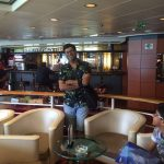 Mr Gaurav Goyal & family during Singapore Cruise vacations