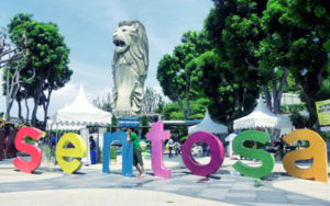 Day 5 SINGAPORE CITY TOUR – SANTOSA ISLAND TRIP