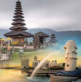 Singapore with Bali tour package