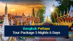 Bangkok Pattaya Tour Package 5 Nights 6 Days