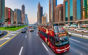 Big Bus Dubai Hop On Hop Off tour